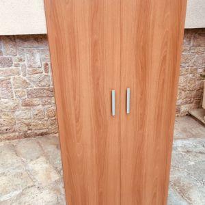 Ντουλαπα Ρουχων (διφυλλη)  με πορτες