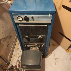 Λέβητας και καυστήρας