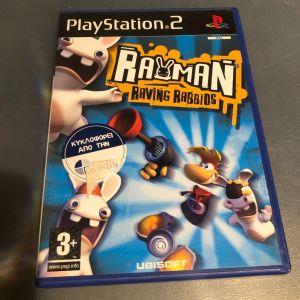PS2 Game -RAVING RABBIDS