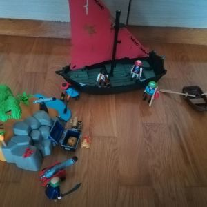 Playmobil Πειρατες