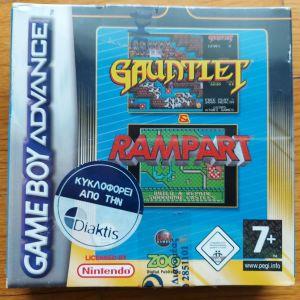 Nintendo game boy advance Gauntlet & Rampart