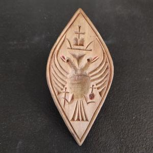 ξύλινη σφραγίδα για πρόσφορα