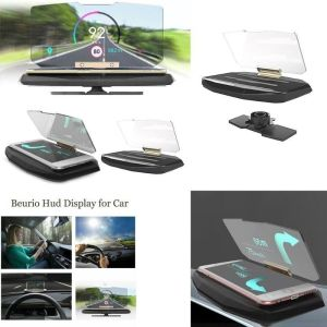 Βάση Κινητού GPS για το Ταμπλό  Αυτοκινητου με Αντανάκλαση Οθόνης