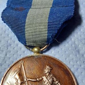 μετάλλιο εθνικής αντίστασης του παππού.... 1941.45.ακομη και η παραμανα και η κορδέλα