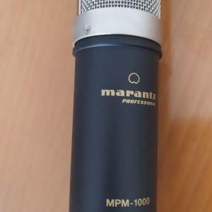Μικρόφωνο Πυκνωτικό Marantz MPM-1000 με Βύσμα XLR