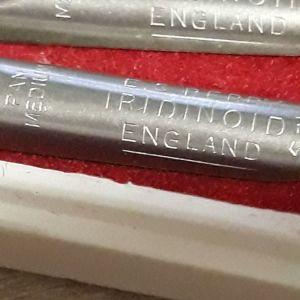 5+3 μύτες vintage για πένες IRIDINOID england