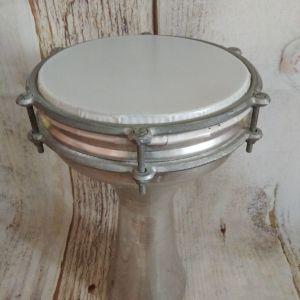 Τουμπελέκι Αλουμίνιο Ν6 Color White  24εκ Χ 38εκ