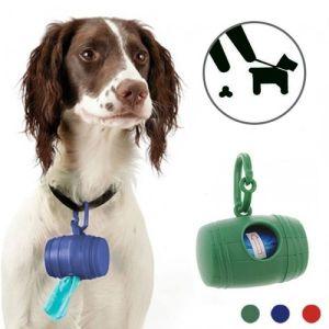 Θήκη για σακουλάκια υγιεινής για σκύλους (15 σακουλάκια)