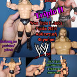 WWE TRIPLE H Jakks Pacific 2003 Αυθεντική Φιγούρα Παλαιστή Wrestler Figure
