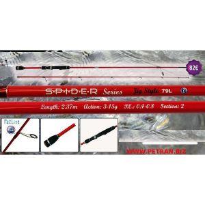 JIG STYLE SPIDER SERIES 2.37m.3-15gr.