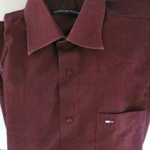 Αντρικό πουκάμισο Tommy Hilfiger L νούμερο