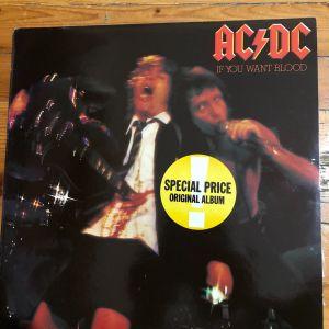 ΔΙΣΚΟΣ AC/DC if you want blood LIVE 1978 -WEA RECORDS made I Greece