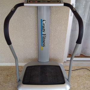 Όργανο γυμναστικής crazy fitness σε καλή κατασταση