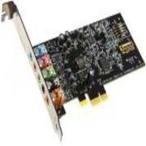 SOUND CARD CREATIVE SOUND BLASTER AUDIGY FX 5.1 PCI-E WITH SBX PRO STUDIO