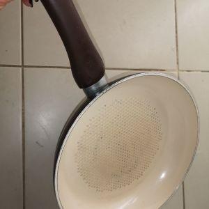 τηγάνι μεγάλο Kitchen star ελάχιστα χρησιμοποιημενο