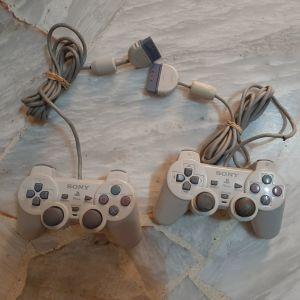 2 Sony playstation 1 ( psone ) χειριστηρια