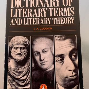J. A. Cuddon - Dictionary of literary terms and literary theory