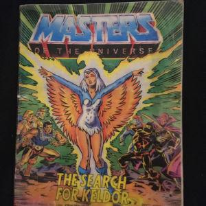 Συλλεκτικό βιβλιαράκι ήταν μαζι με τις φιγούρες Master of the universe τη δεκαετία του 80s