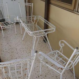 Σιδερένιο τραπέζι  φερ Φορζέ