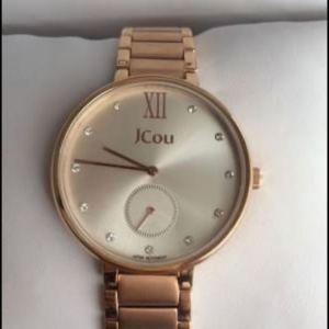 Γυναικείο ρολόϊ JCou Majesty rose gold