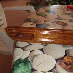 Ξύλινος σωλήνα από τικ 97 εκατοστά