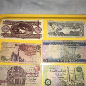 6 συλλεκτικά χαρτονομίσματα