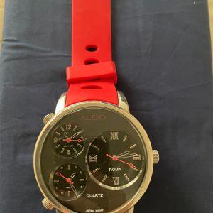 Ρολόι aldo ανδρικό κόκκινο 45mm