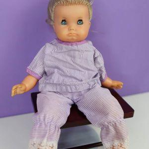 Schildkröt κούκλα vintage της σειράς Schlummerle 1960
