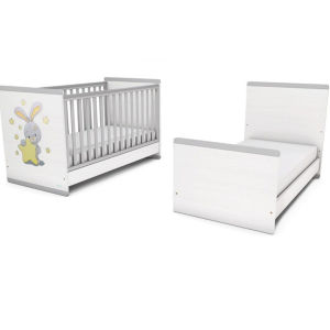 Μετατρεπόμενο παιδικό κρεβάτι κούνια Casababy Smart