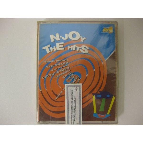 N'JOY THE HITS - VARIOUS - dipli kaseta