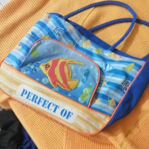 Τσάντα θαλάσσης με σχέδιο