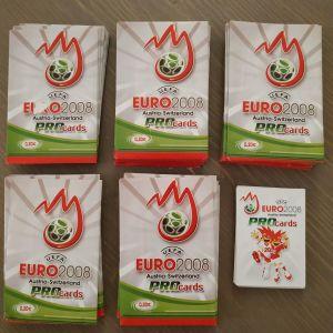 Φακελάκια euro 2008 pro cards