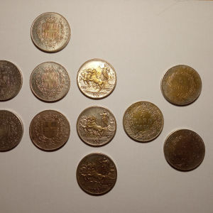 Ρεπλικες παλιών Ιταλικών νομισμάτων
