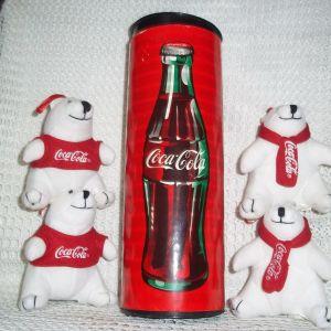 Συλλεκτικά Αρκουδάκια  από την Coca  Cola