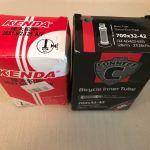 2 καινούργιες σαμπρέλες ποδηλάτου Kenda και Connect