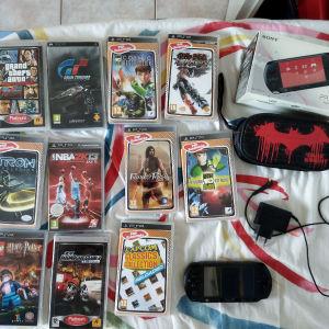 Sony PSP e1004 + extra