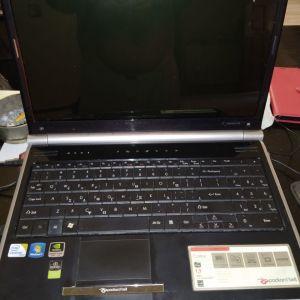 Laptop packard bell 15,6,nvidia GT 240M,4gb ram,ssd,cpu intel