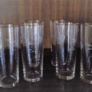 ποτήρια ούζου κρυστάλινα 6