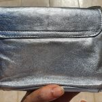 Vintage ασημένια τσάντα ώμου