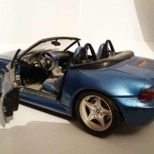 BMW Z3 M 3.2 ROADSTER 1:18 1996 BLUE