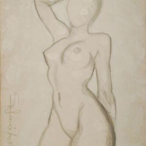 ελευθερο σχεδιο γυμνο . ζωγραφος αντωνης στεφανακος