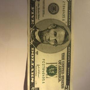5 Δολάρια Αμερικής