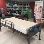 Νοσοκομειακό κρεβάτι ασθενούς με κινητικά προβλήματα