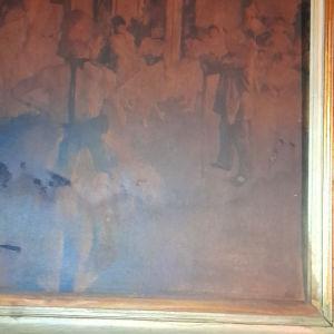 συλλεκτικός πίνακας ζωγραφικής αντίγραφο ο γνήσις  είναι σε μουσείο