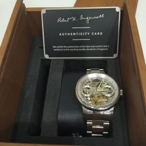 INGERSOLL Jazz Automatic Dual Time Silver 42m