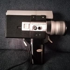 Canon camera auto zoom 518 super 8