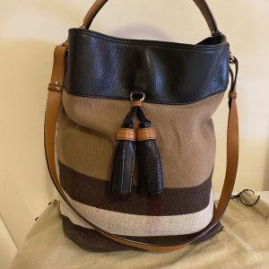 Burberry Ashby Bag  Canvas