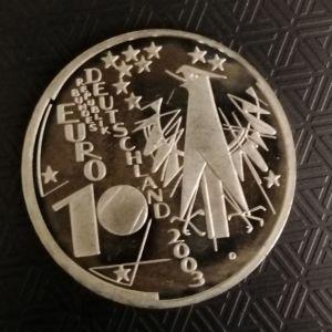 10ευρώασιμένιο2003Deutschland MUNCHEN 100 JAHRE