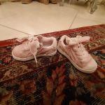 Ροζ παιδικά παππούτσια Dr Scholl νουμερο 20 με φερμουαρ στο πλάι