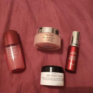 Διάφορες κρέμες προσώπου και ματιών Shiseido, Lancome και Dior